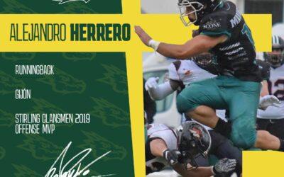 Alejandro Herrero es nuestro nuevo jugador
