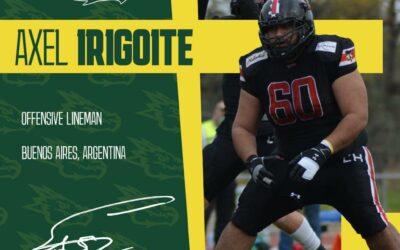 Axel Irigoite es nuestro nuevo jugador
