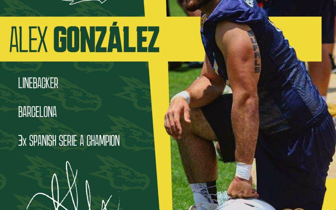 Alex González 'Posito' es nuevo Dragon
