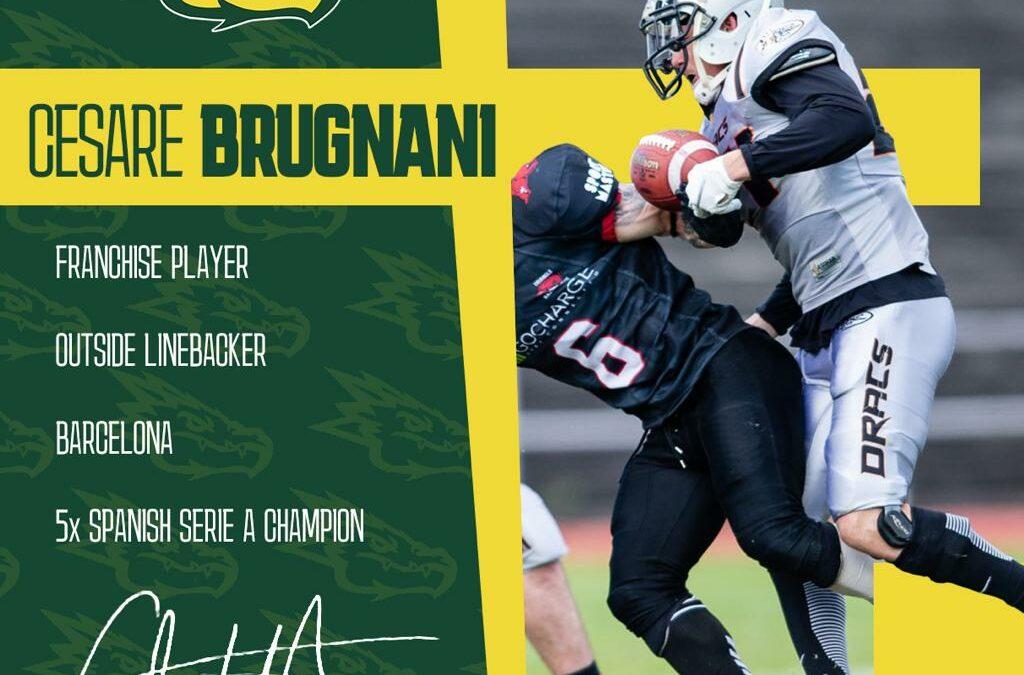Cesare Brugnani ya es un Dragon más