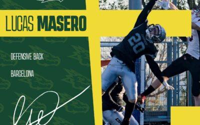 Lucas Masero es nuevo integrante del roster