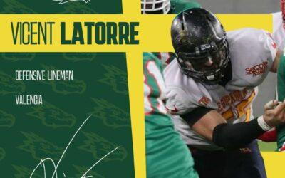 Vicent Latorre es nuestro nuevo jugador