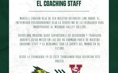 Comunicado sobre el Coaching Staff